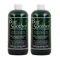 Bug Soother Repellent Insect Pack Safe Kid Child Pet Natural Works Effective DEET Free Hiking Fishing Golfing Camping Travel Vacation Holiday Camping Barbeque Garden Evening Party Spring Summer Outdoor