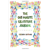 The One Minute Gratitude Journal Cultivating Range Health Benefit Brenda Nathan Physical Mental Spiritual Draw Write Inspirational Quote Non-religious Gratitude Appreciation Feeling Moments Blessing