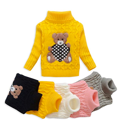 Rib-knit trim at neck, sleeve cuffs and hem     Color: White,Red,Gray,Green,Black,Yellow     Our sweaters are HIGH-QUALITY and will last for years     All sweaters are brand-new     Suitable for autumn, boys and girls between 5 and 13 years old