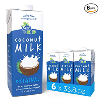 Vita Coco Unsweetened Original Coconut Milk – Pack of 6 This milk alternative makes and excellent choice for pouring over cereal, soaking oats, or adding nutrients in smoothies. Non-dairy, vegan, milk alternative, plant-based, dairy-free