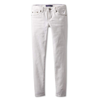Levi's Girl Super Skinny Classic Jeans Teenager Wardrobe Fashionable White Fit 710 Cotton Polyester Viscose Elastane Embroidery Pocket Fun Design Stitch Comfortable Party Daytime Evening Holiday Everyday Leisure Casual Spring Summer Fall Winter Holiday