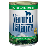 Natural Balance Premium Wet Dog Food  A complete, balanced true vegan dog food formula Vegan-friendly, all breeds of adult dogs, no artificial colors or additives