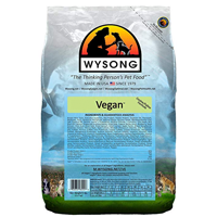 Wysong Vegan Feline/Canine Dry Food A natural vegan formula for both dogs and cats Vegan-friendly, all sizes and breeds of dogs and cats