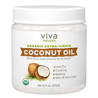 Viva Naturals Organic Extra Virgin Coconut Oil – 16oz
