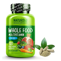 Naturelo Whole Food Multi Vitamin Men Natural Organic Extract Mineral Vegan Energy Brain Heart Eye Health Capsule Metabolism Energy Fruit Vegetable Immunity Antioxidant Digestion