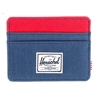 Herschel Supply Co. Men Charlie Wallet Classic Polyester Lining No Closure Handwash Sleet Slim Card Holder Gift Him Father Brother Boyfriend Christmas Hannukah Birthday Holiday